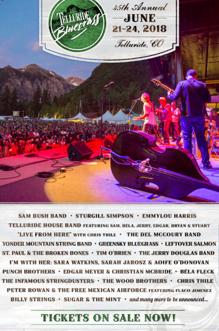 Telluride Lineup Announcement