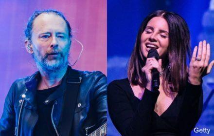 Radiohead and Lana Del Ray