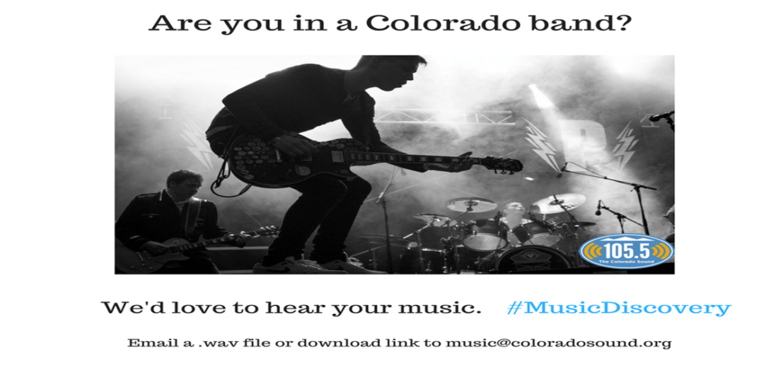 Are you in a Colorado band