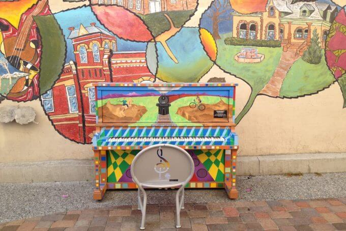 Pianos About Town