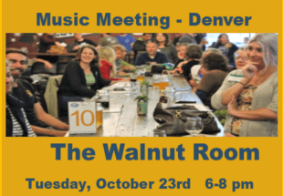 Attend Our Next Music Meeting!