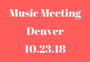 Songs From The Denver Music Meeting