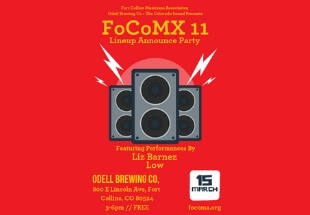 Head To The FoCoMX 11 LineUp Announce Party