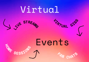 An Updated List Of Virtual Events