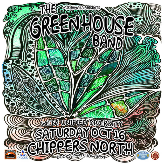 green house band chippers north live on the lanes
