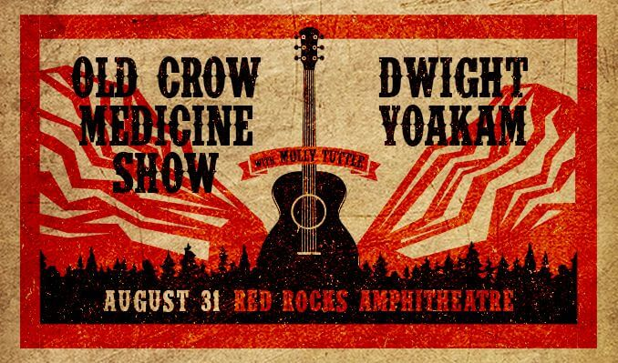 old crow medicine show dwight yoakam red rocks molly tuttle