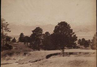 william henry jackson photo photograph pikes peak austin bluffs colorado vintage
