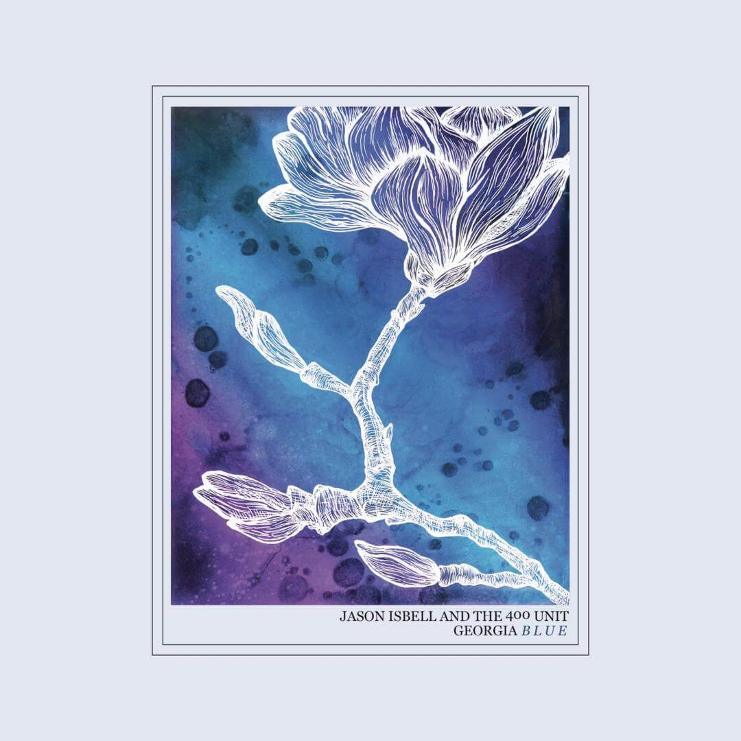 georgia blue jason isbell album cover art
