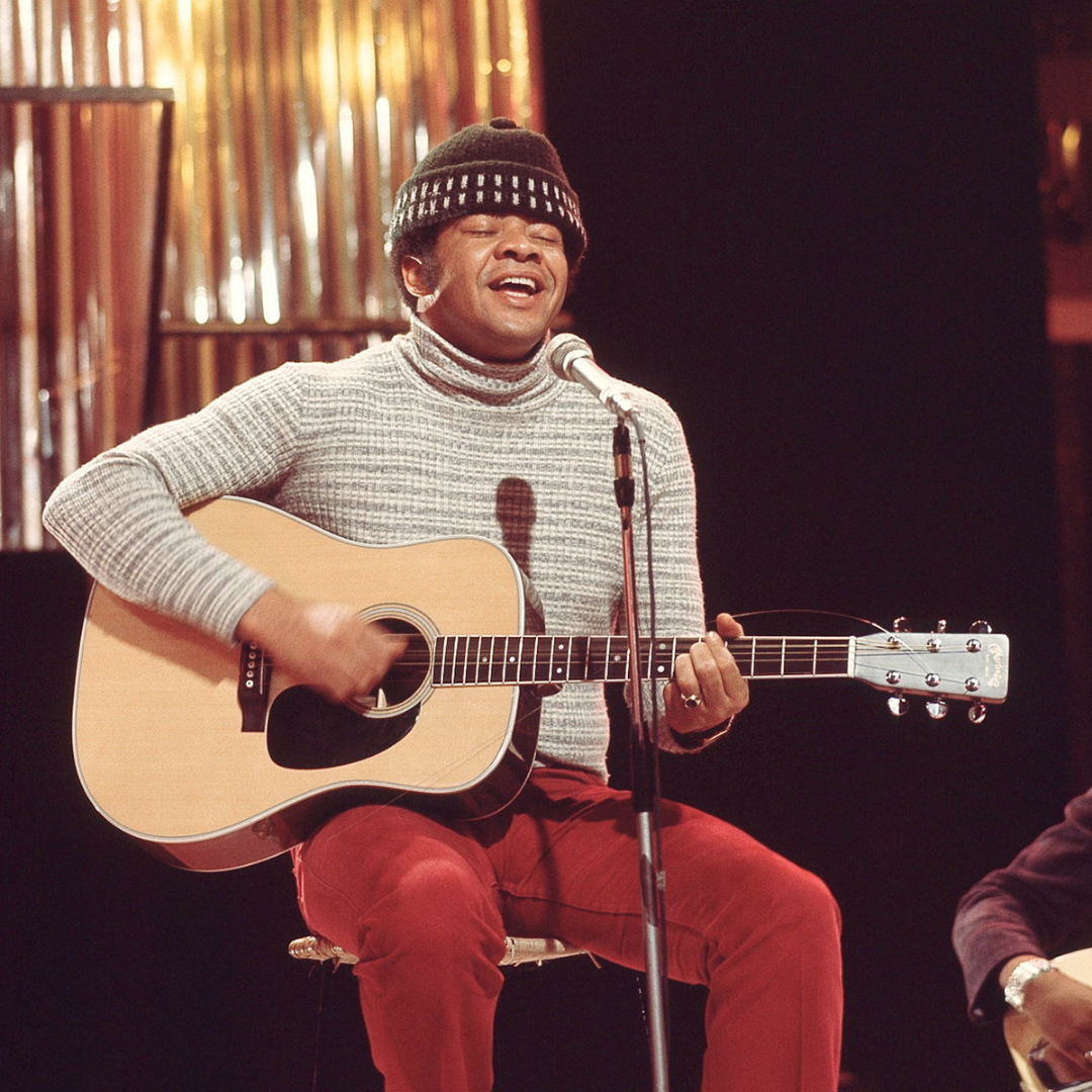 """Bill Withers, July 4, 1938 - March 30, 2020, was an American songwriter who contributed classics such as """"Lean On Me,"""" """"Lovely Day,"""" and """"Just The Two Of Us."""" He is widely considered one of the best soul singers of any era."""