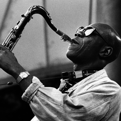 """Manu Dibango, December 12, 1933 - March 24, 2020, was a musician from Cameroon whose contributions to afrojazz and afrobeat are many. He played saxophone and vibraphone, and is best known for his 1972 hit """"Soul Makossa."""""""