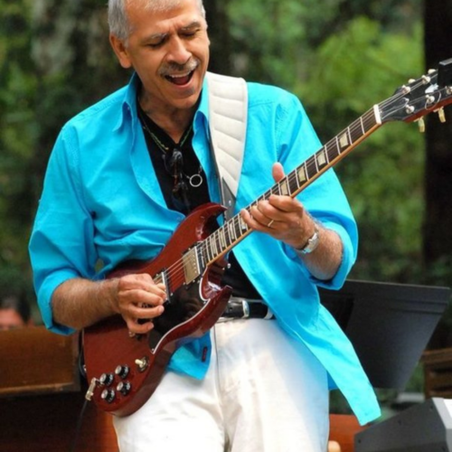 Jorge Santana, June 13, 1951 - May 14, 2020, was a well-known Mexican guitarist and brother of Carlos Santana.