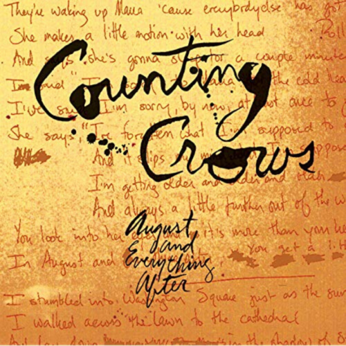 15. Counting Crows | August & Everything After