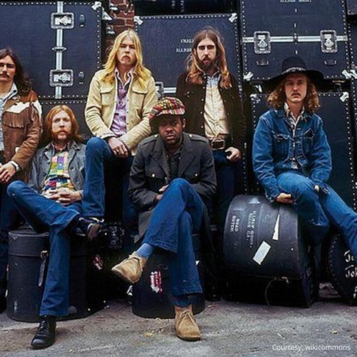 1. The Allman Brothers Band